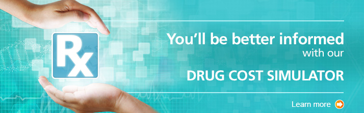 Learn more about the drug cost simulator.
